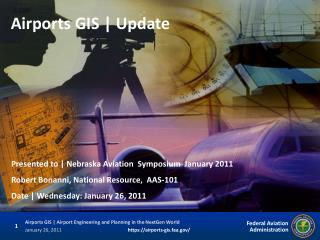 Airports GIS | Update
