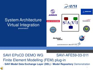 System Architecture Virtual Integration presentation