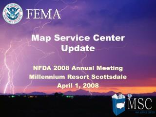Map Service Center Update