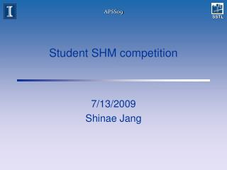 Student SHM competition