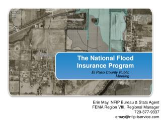The National Flood Insurance Program