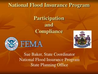 National Flood Insurance Program Participation and Compliance