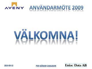 Användarmöte 2009