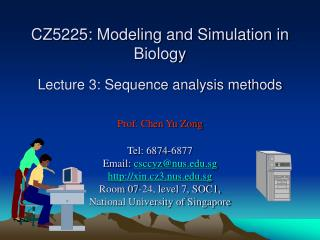 Sequence Analysis Methods