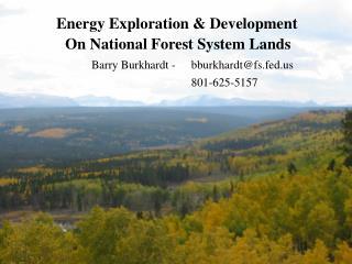 Energy Exploration & Development