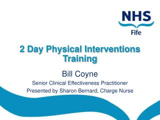 2 Day Physical Interventions Training