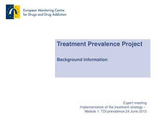 Treatment Prevalence Project Background information