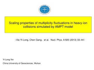 Scaling properties of multiplicity fluctuations in heavy-ion collisions simulated by AMPT model