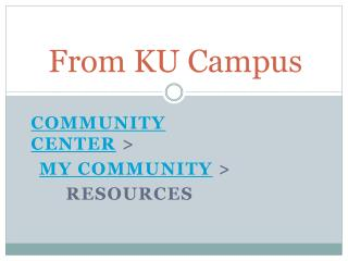 From KU Campus