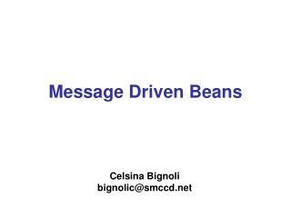Message Driven Beans