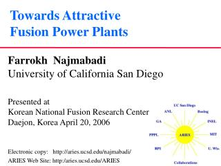 Towards Attractive  Fusion Power Plants
