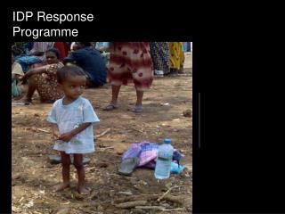 IDP Response  Programme