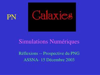 Simulations Numériques