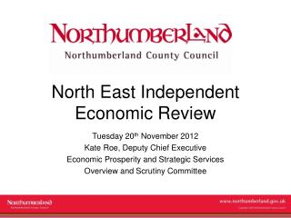 North East Independent Economic Review