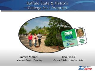 Buffalo State & Metro's   College Pass Program