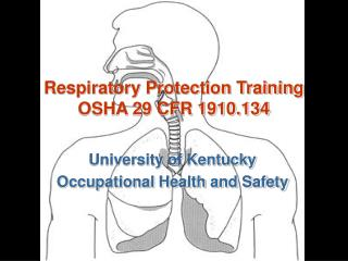 Respiratory Protection Training OSHA 29 CFR 1910.134