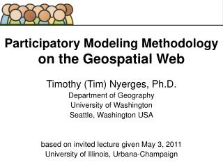 Participatory Modeling Methodology  on the Geospatial Web
