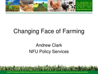 Changing Face of Farming