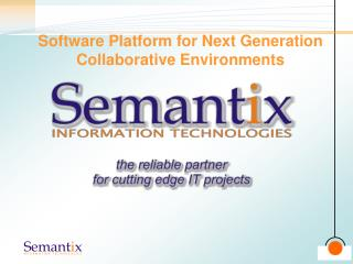 Software Platform for Next Generation Collaborative Environments
