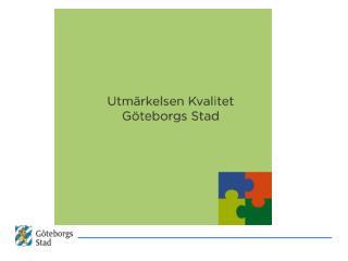 Verktyg i Göteborg Stads modell för balanserad styrning