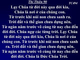 Thi Thiên 90
