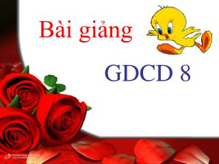 Bài giảng GDCD 8