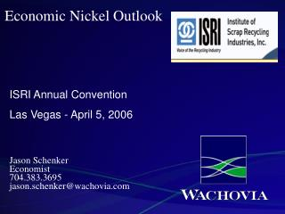 Economic Nickel Outlook