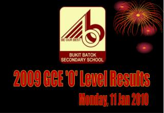 2009 GCE 'O' Level Results