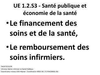 UE 1.2.S3 - Santé publique et économie de la santé