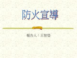 報告人:王智瑩