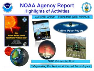 NOAA Agency Report Highlights of Activities