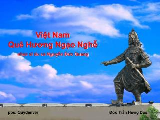 Việt Nam Quê Hương Ngạo Nghễ