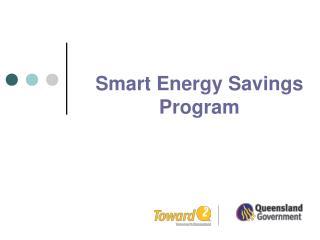 Smart Energy Savings Program