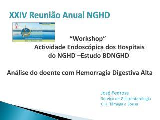 XXIV Reunião Anual NGHD