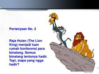 Pertanyaan No. 3