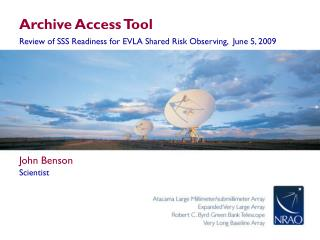 Archive Access Tool