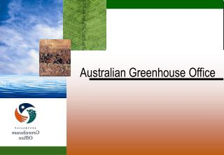 Australian Greenhouse Office