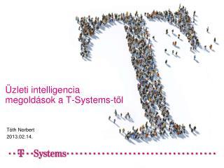 Üzleti intelligencia megoldások a T-Systems-től