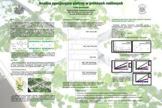 Analiza specjacyjna platyny w próbkach roślinnych Jakub Ignatowski