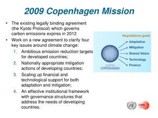 2009 Copenhagen Mission
