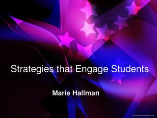 Strategies that Engage Students