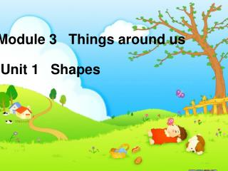 Module 3   Things around us  Unit 1   Shapes