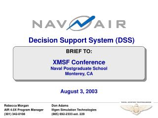 Decision Support System DSS
