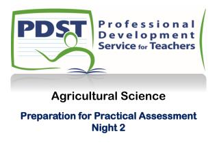 Agricultural Science Preparation for Practical Assessment Night 2