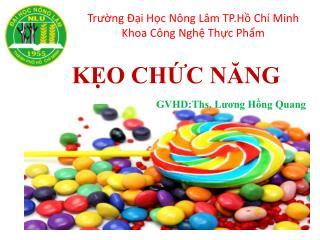 GVHD :  Lương Hồng Quang