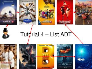 Tutorial 4 – List ADT