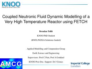 Coupled Neutronic Fluid Dynamic Modelling of a Very High Temperature Reactor using FETCH