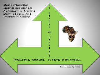 Renaissance, Humanisme,  et nouvel ordre mondial…
