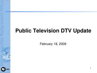 Public Television DTV Update