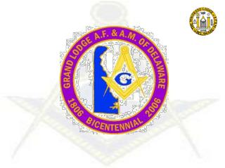 The Most Worshipful Grand lodge Of Ancient Free & Accepted Masons In Delaware